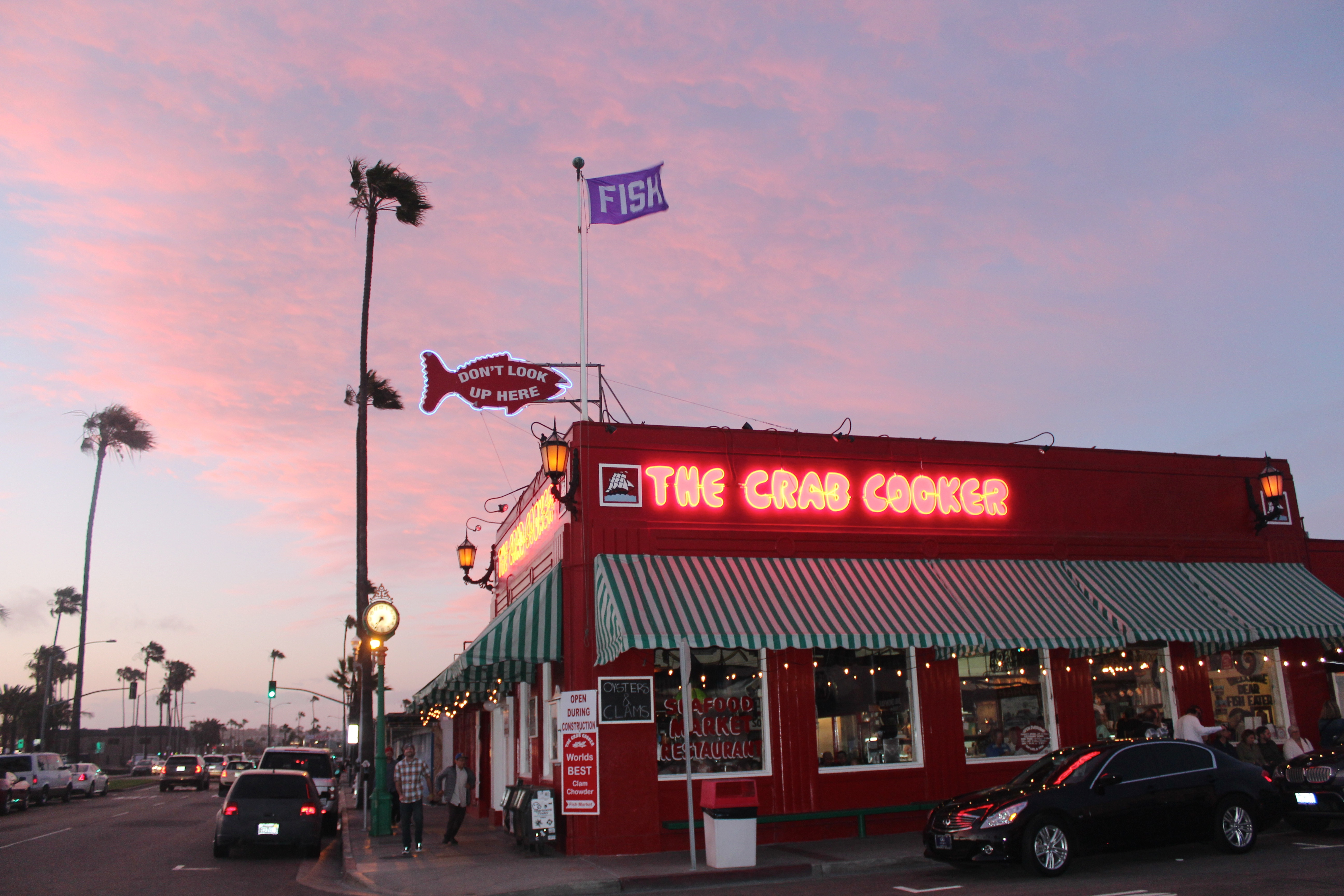 seafood in socal: the crab cooker