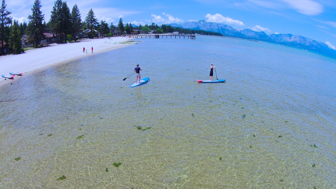 tahoe VIDEO + paddleboarding