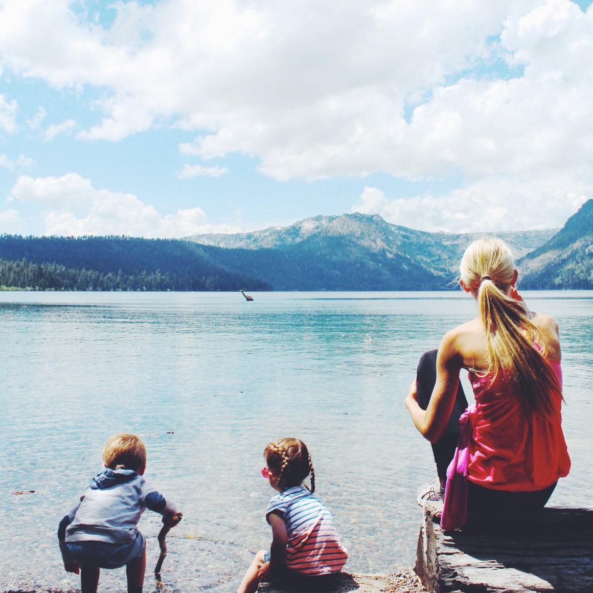 hiking tahoe: fallen leaf lake