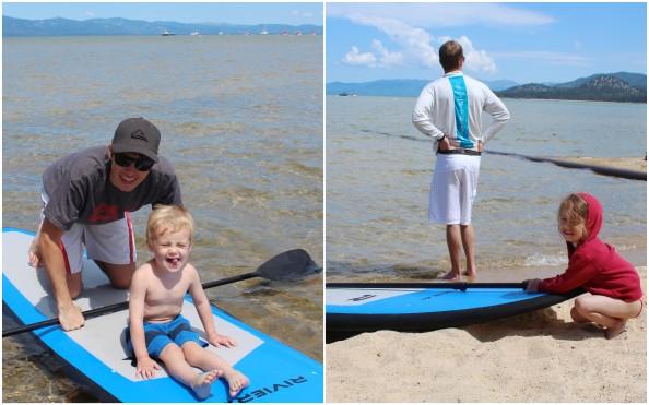 paddleboarding tahoe