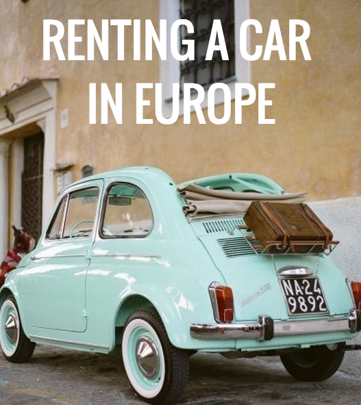 tips for europe by car
