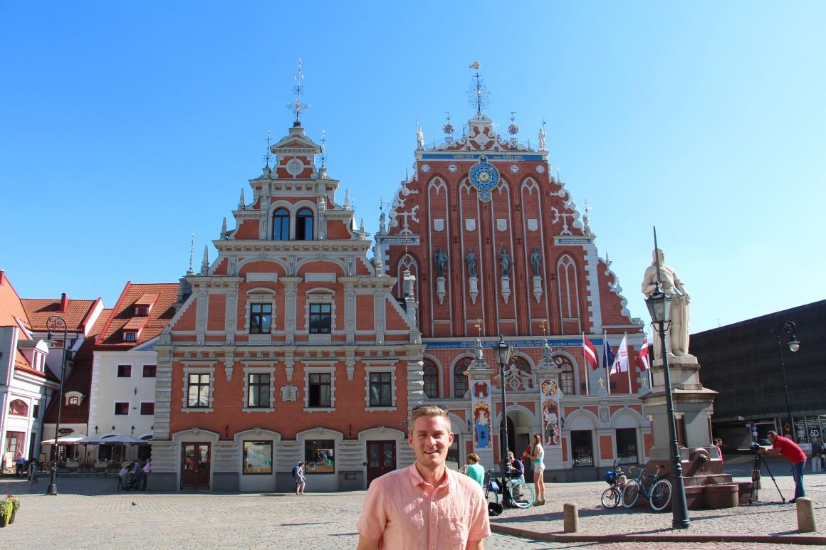 baltic capitals: riga, latvia