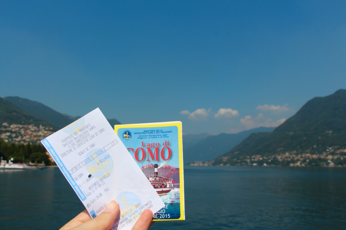 the best way to see LAKE COMO