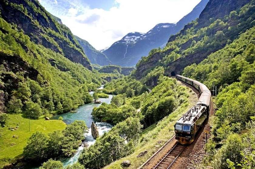 flåm railway – the most beautiful train journey in the world