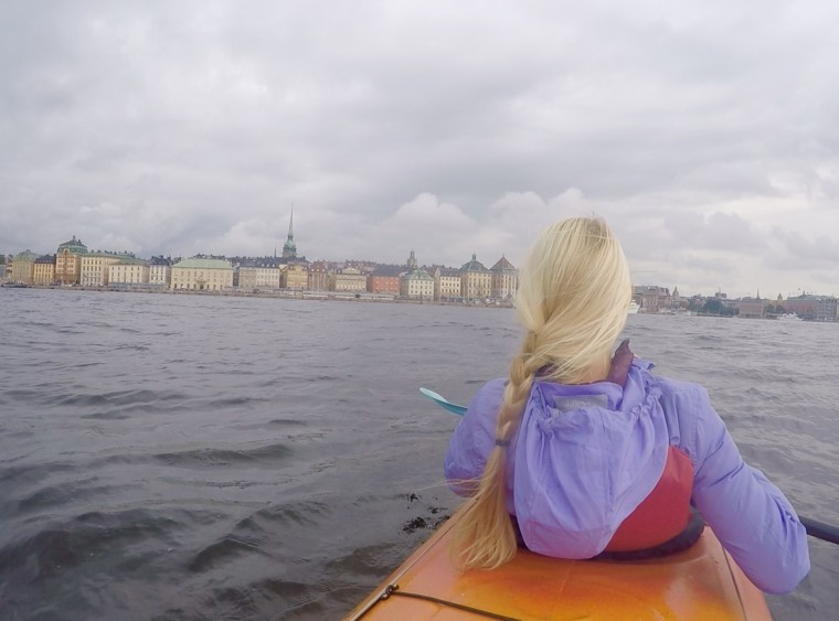 kayaking, segwaying, biking, boating, & walking through stockholm