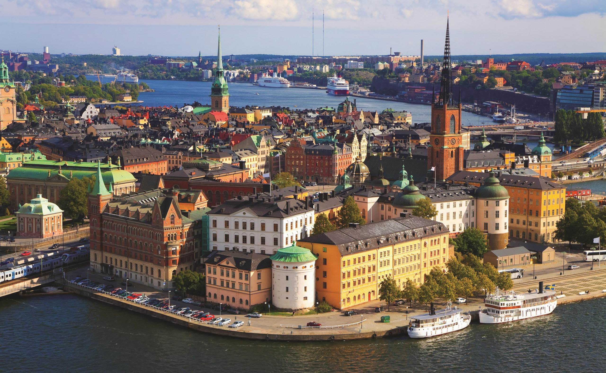 stepping into STOCKHOLM