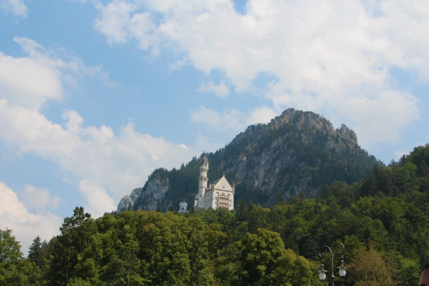 a failure day at neuschwanstein castle