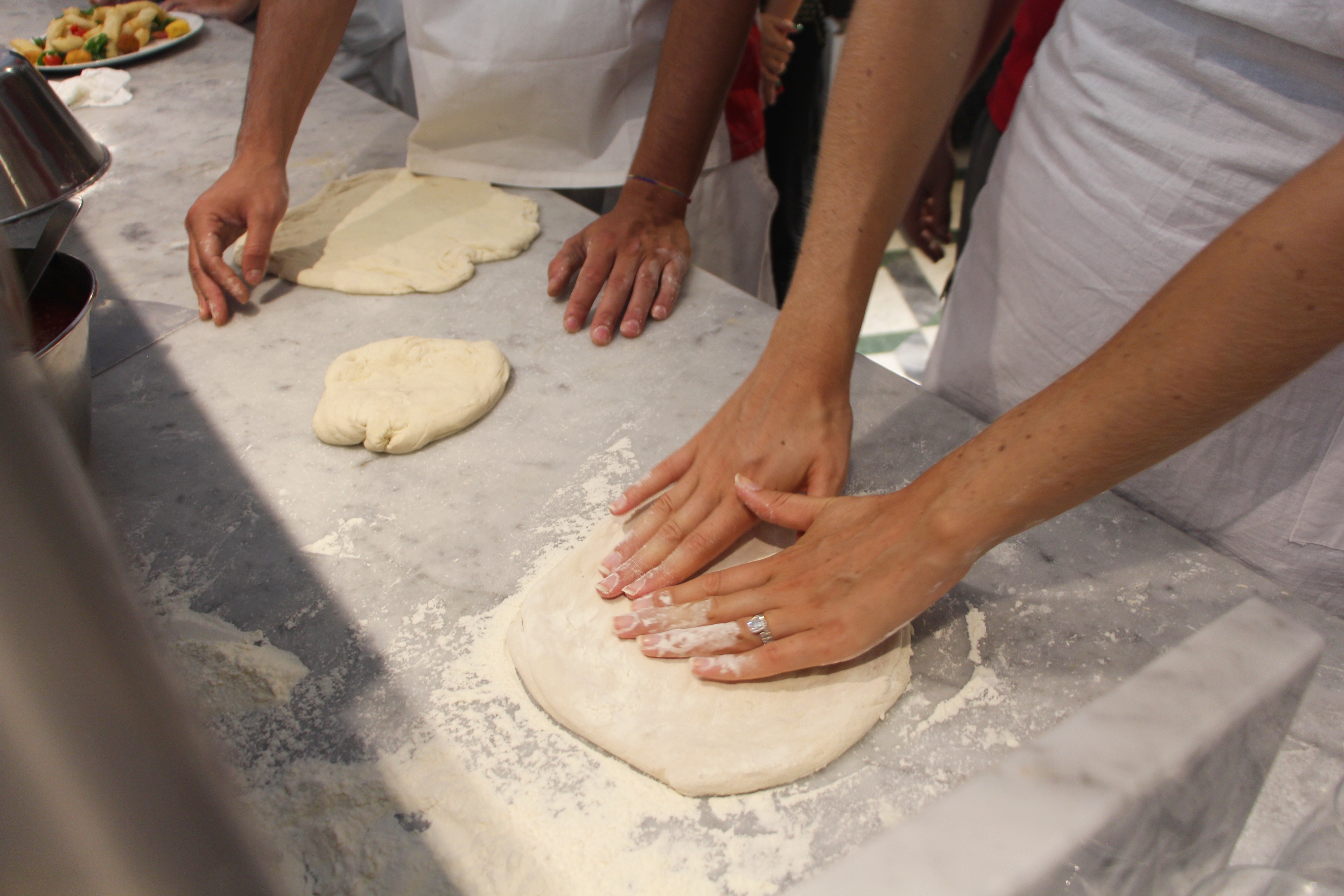 PIZZA MAKING class in naples!