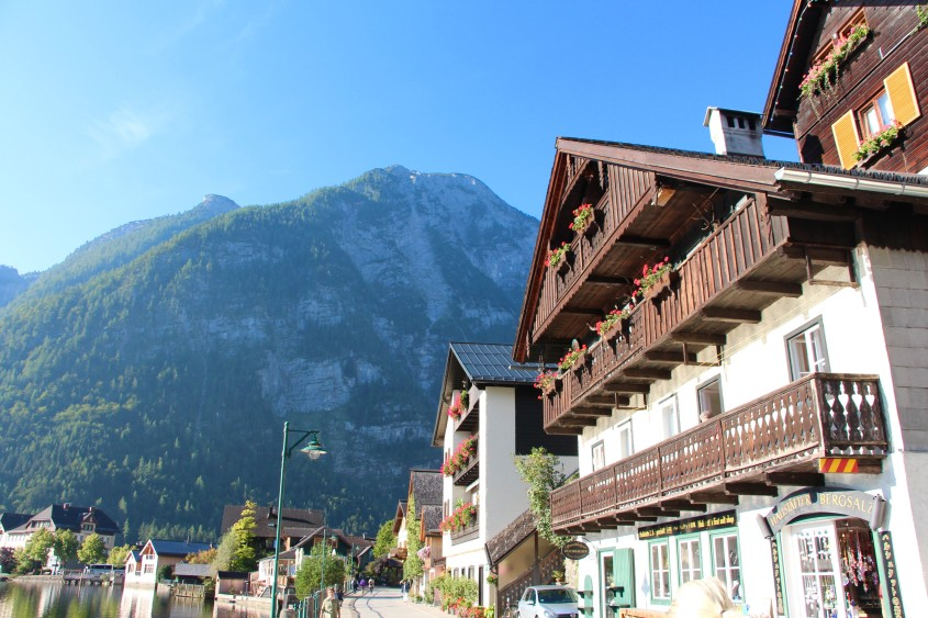 the storybook town of hallstatt