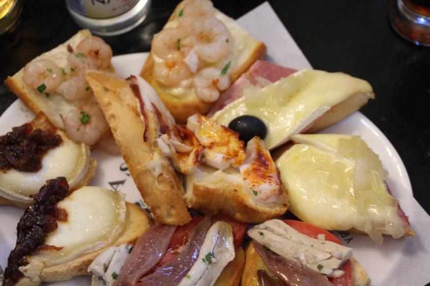 spanish food tour in madrid