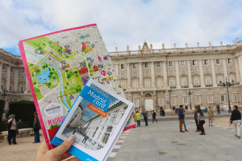 sightseeing with the madrid card