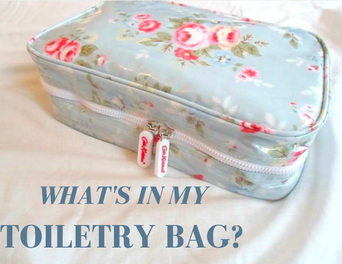 what's in my toiletry bag?
