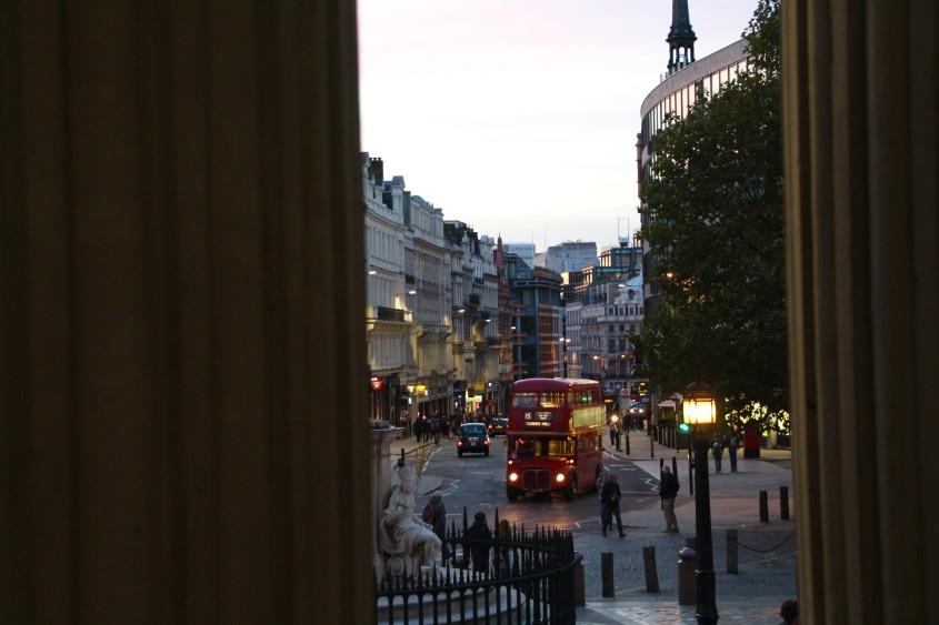cheerio, london town!