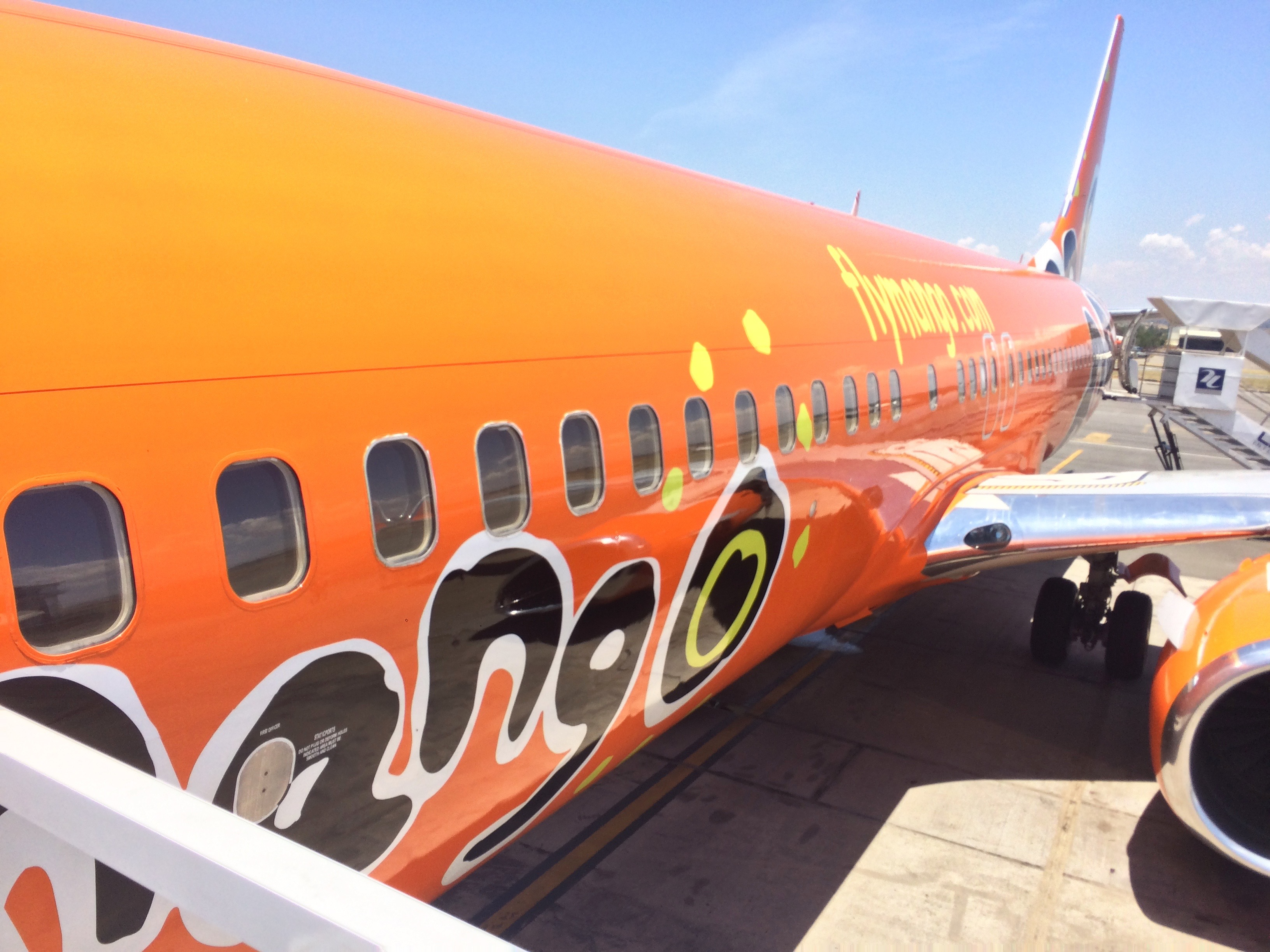 flying to cape town with mango airlines!