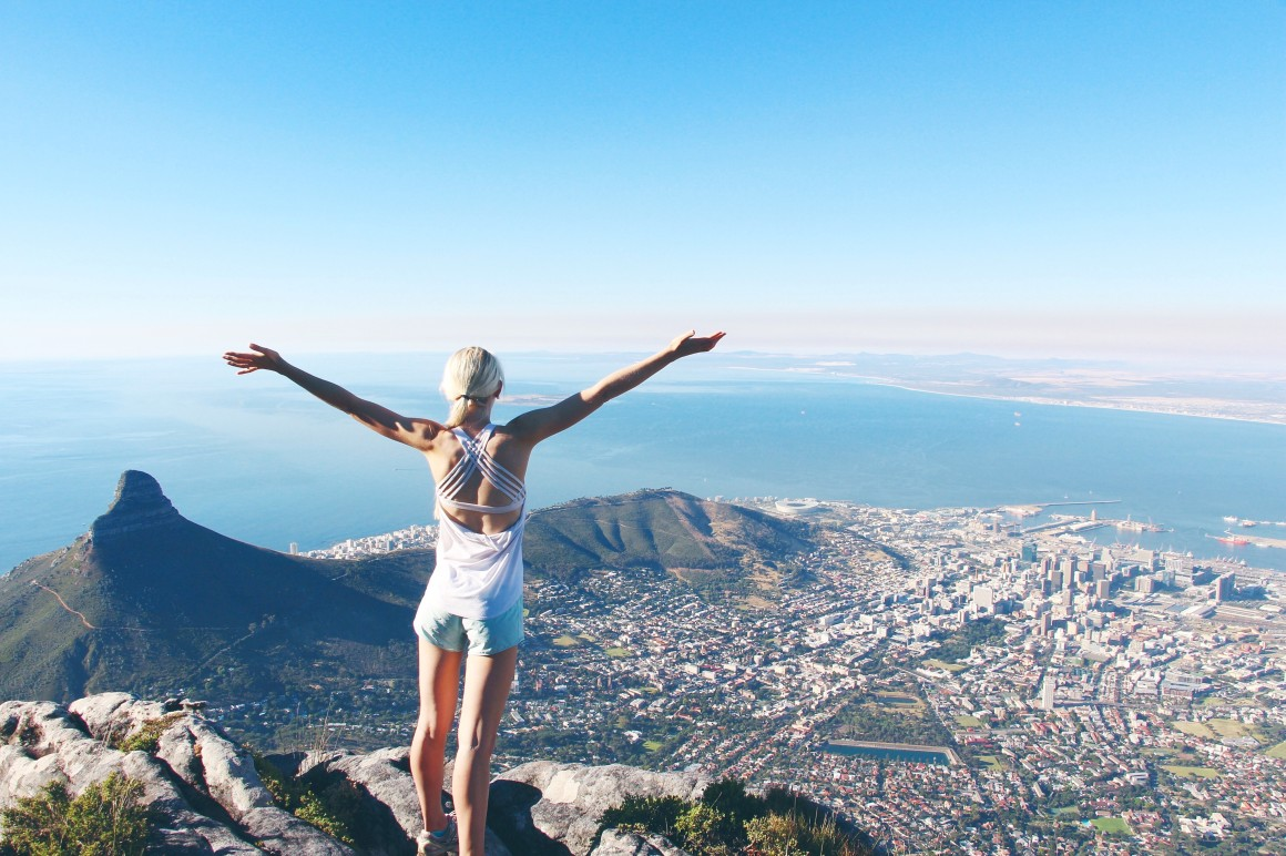 table mountain, cape town!