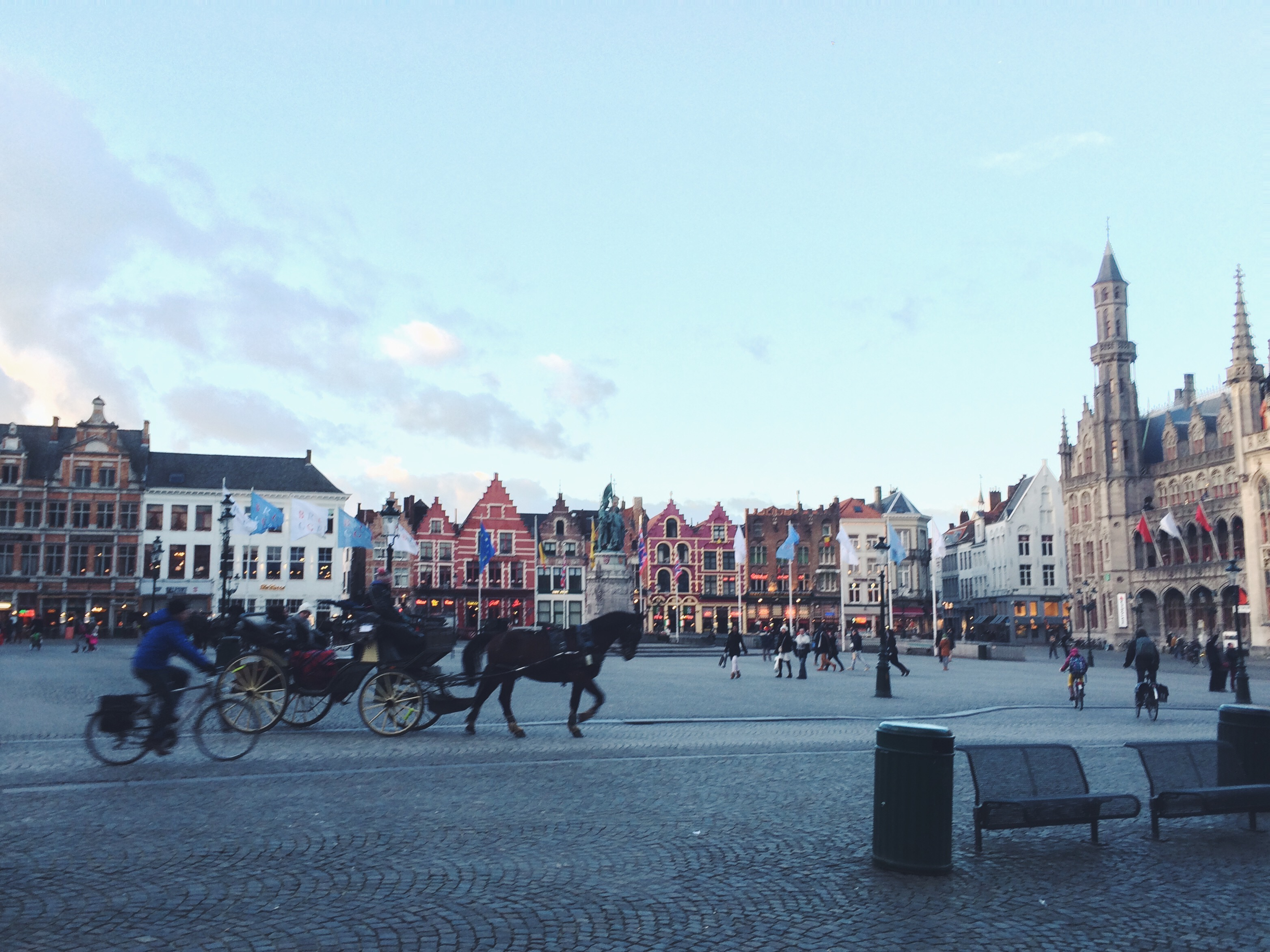 one of europe's most charming towns: bruges