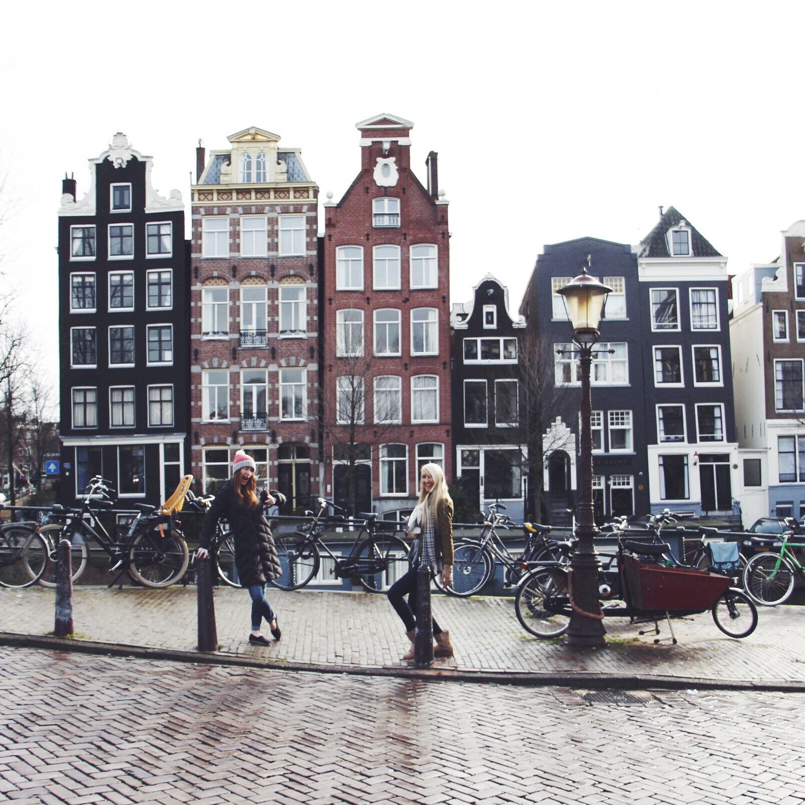 the hammels visit amsterdam!!