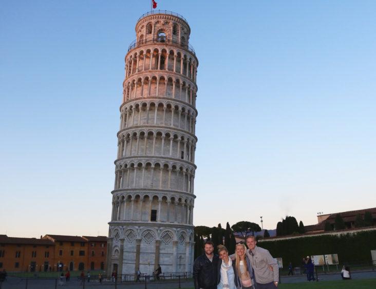 Pizza in Pisa!