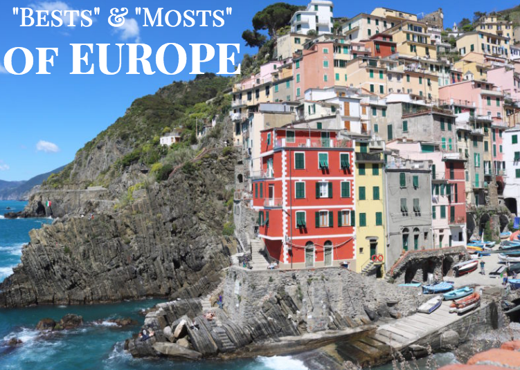 """""""Bests"""" & """"Mosts"""" of Europe"""