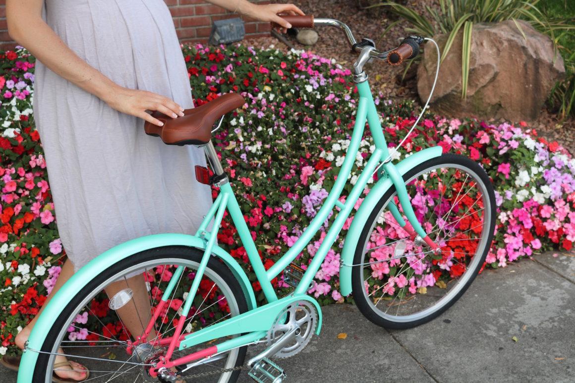 Biking around the new neighborhood!