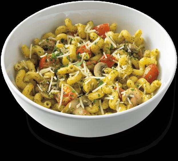 Pesto Cavatappi Recipe from Noodles & Co.
