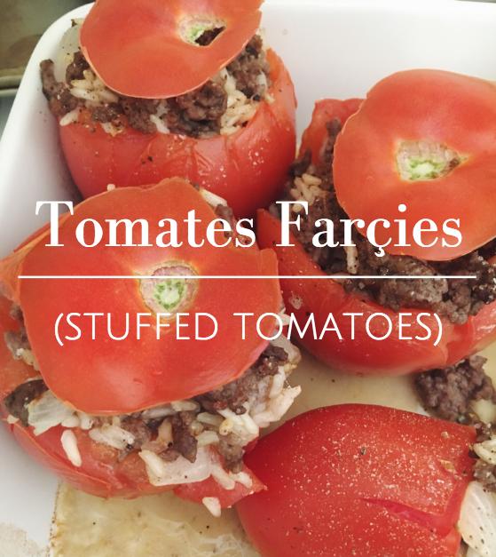 Tomates Farçies (Stuffed Tomatoes)