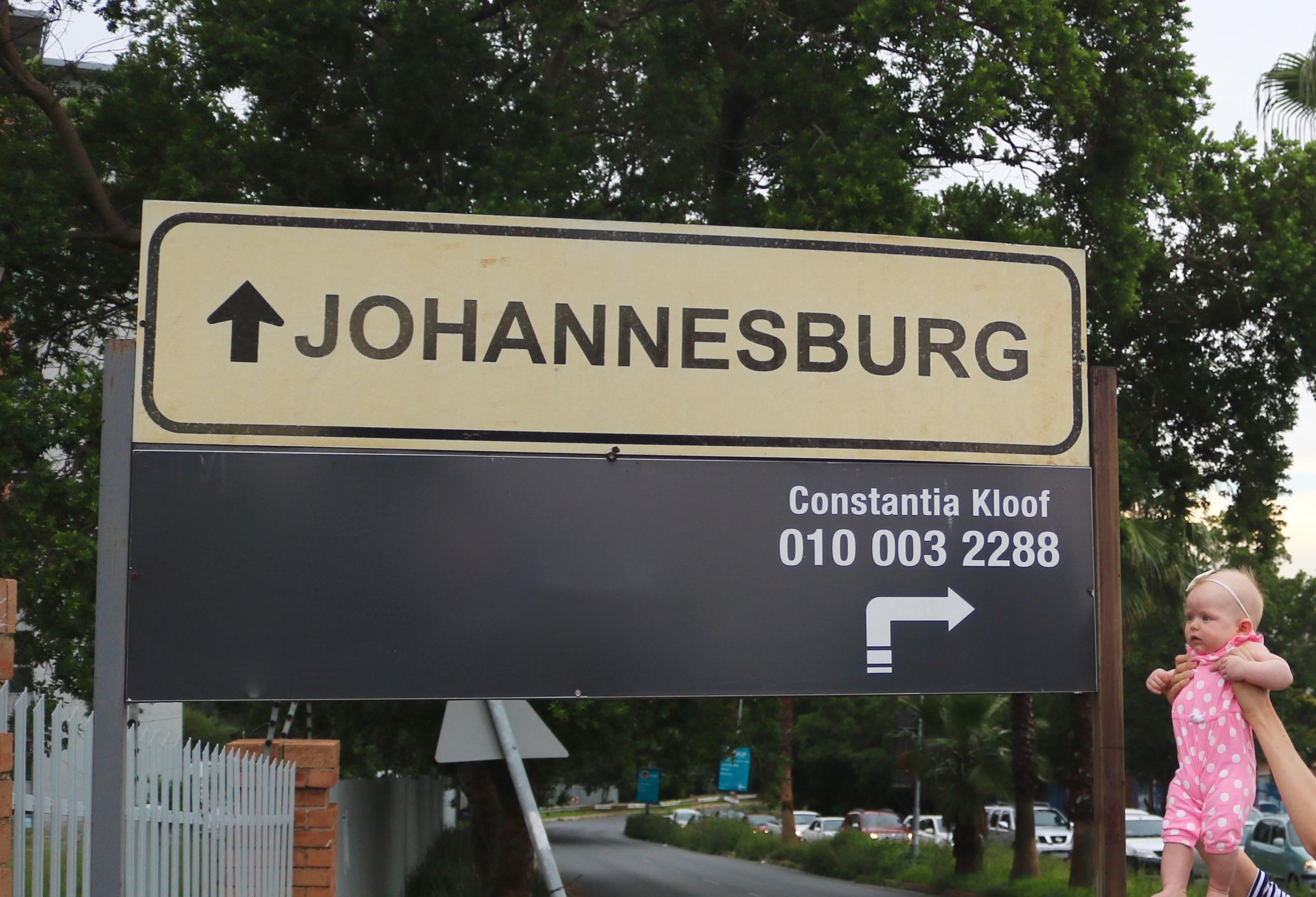 Baby in Johannesburg