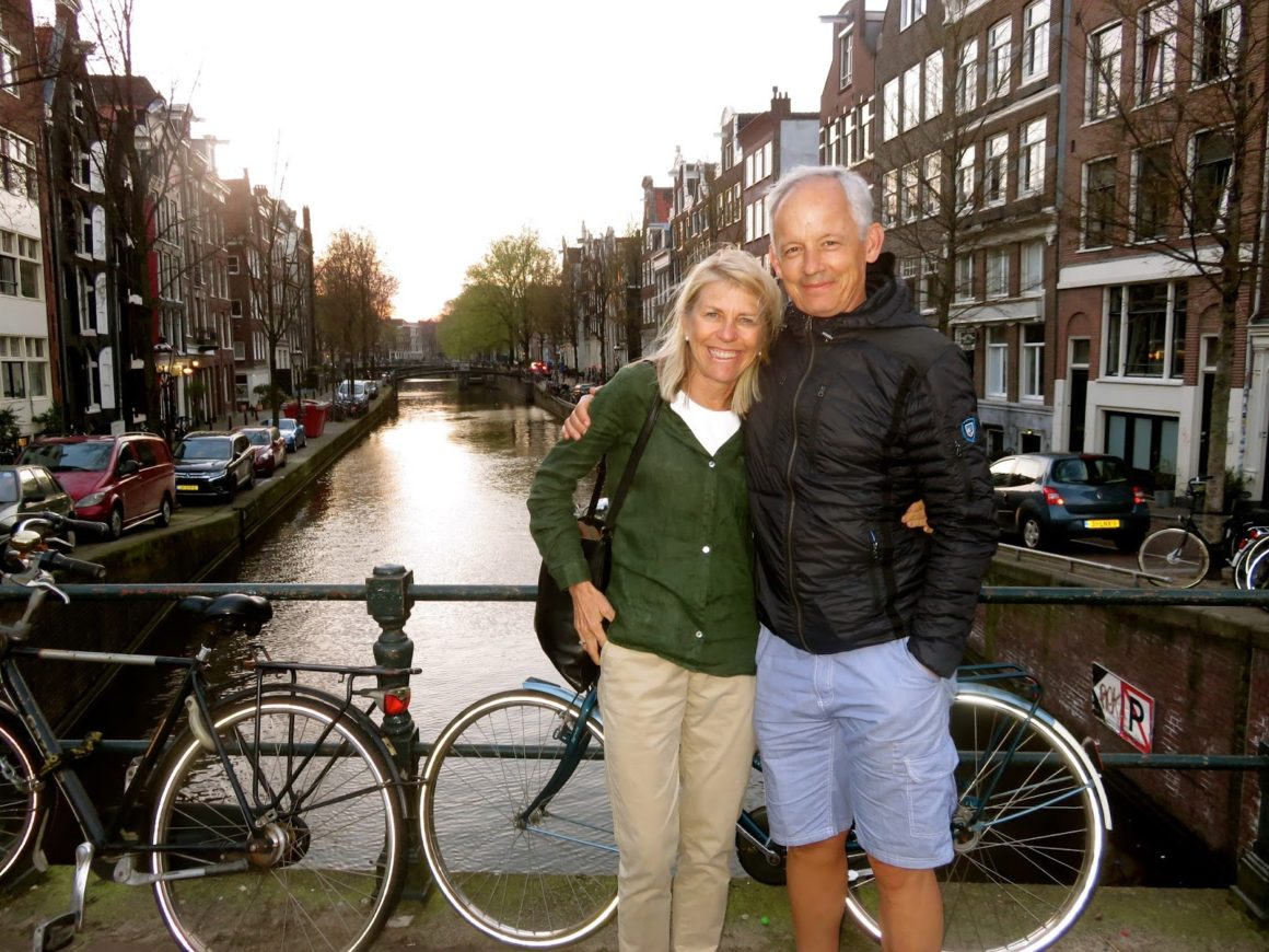 Parents in Amsterdam!