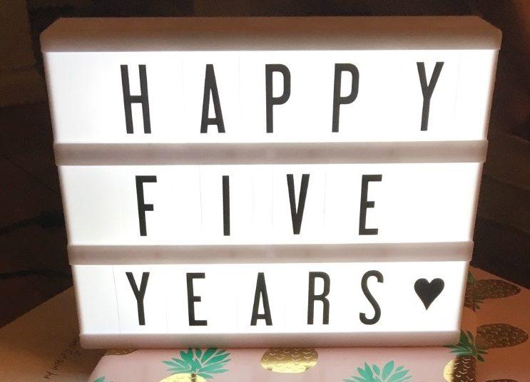 Fifth Anniversary!