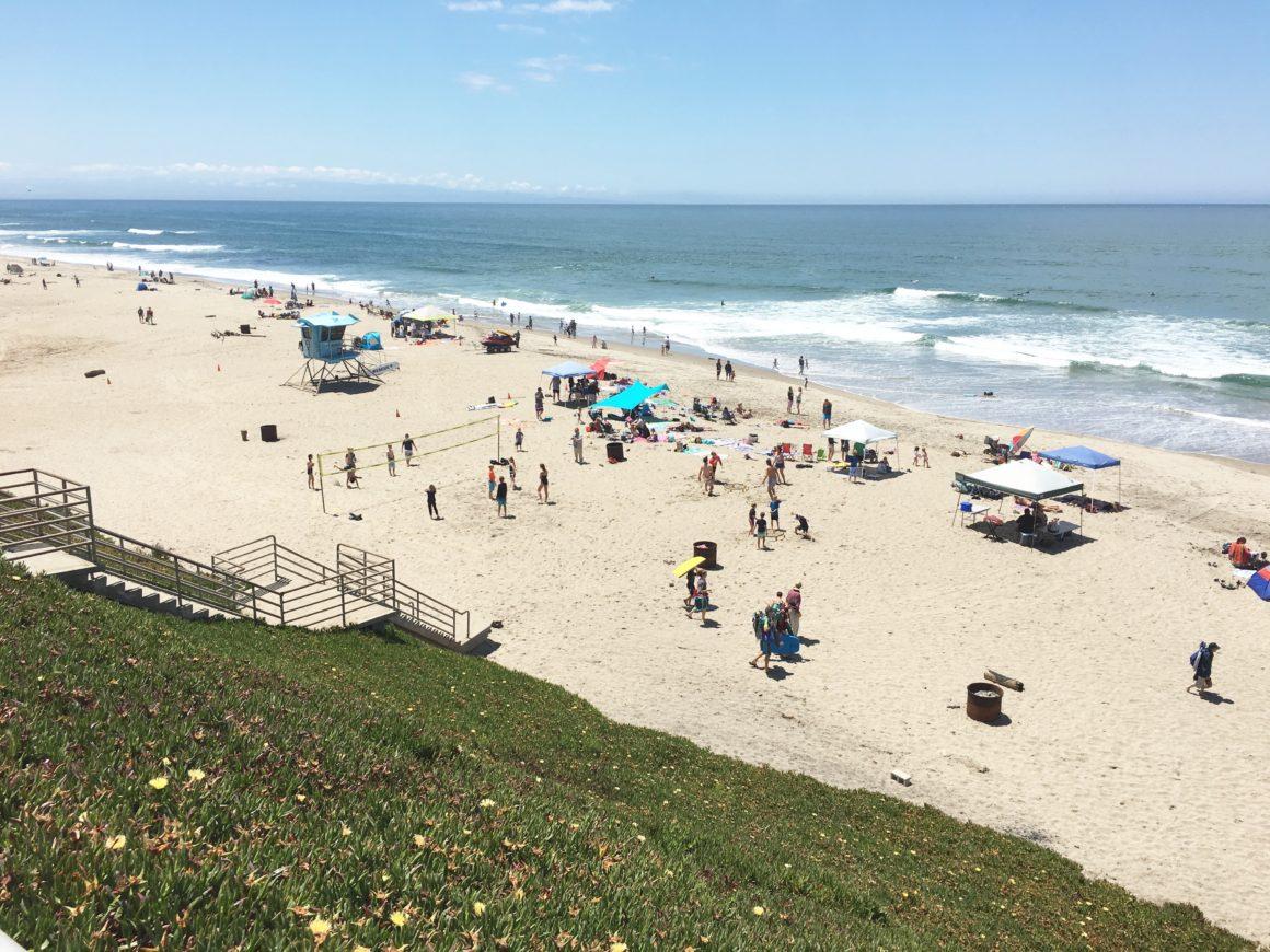 Manresa State Beach Day