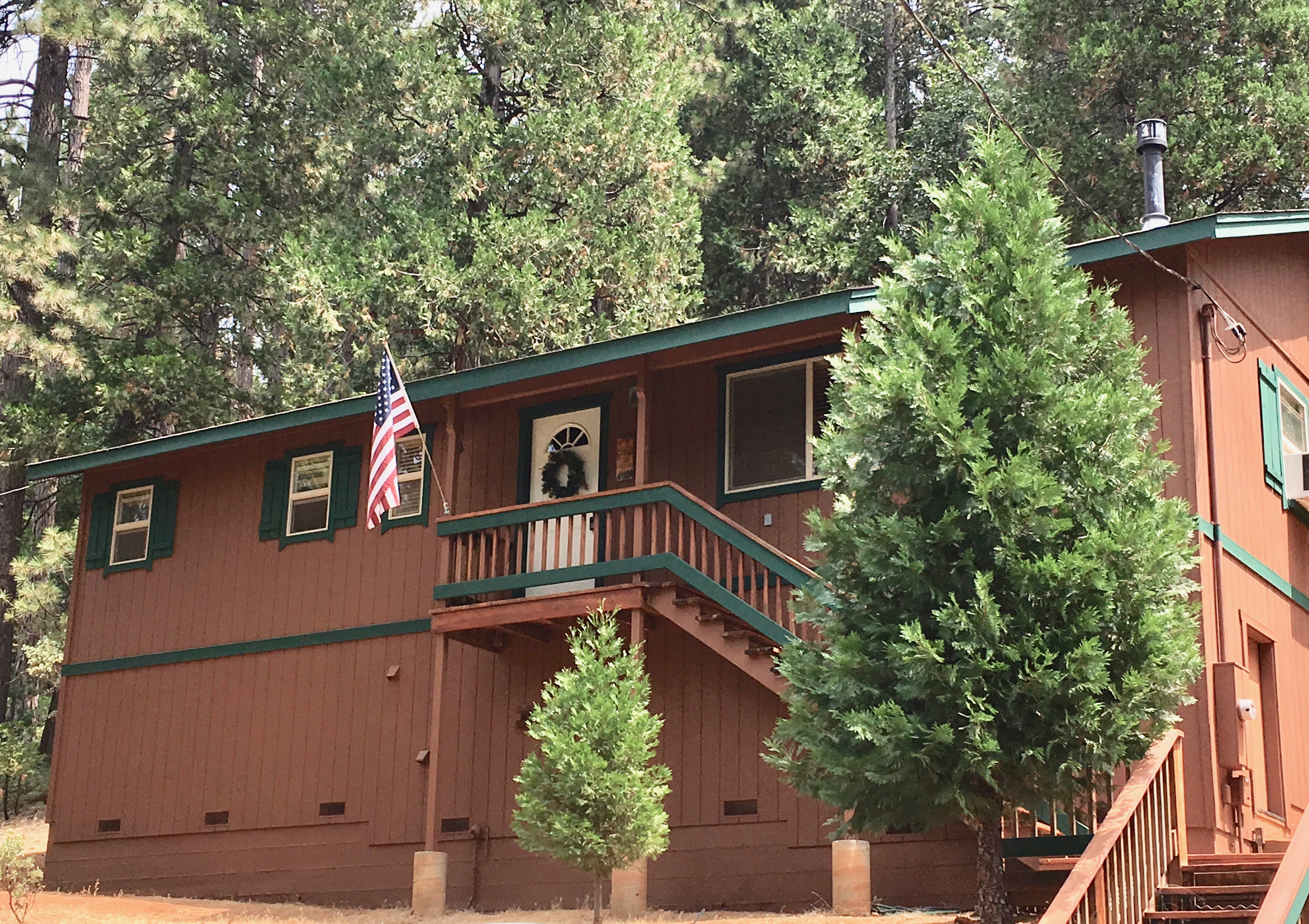 Cali cabin weekend