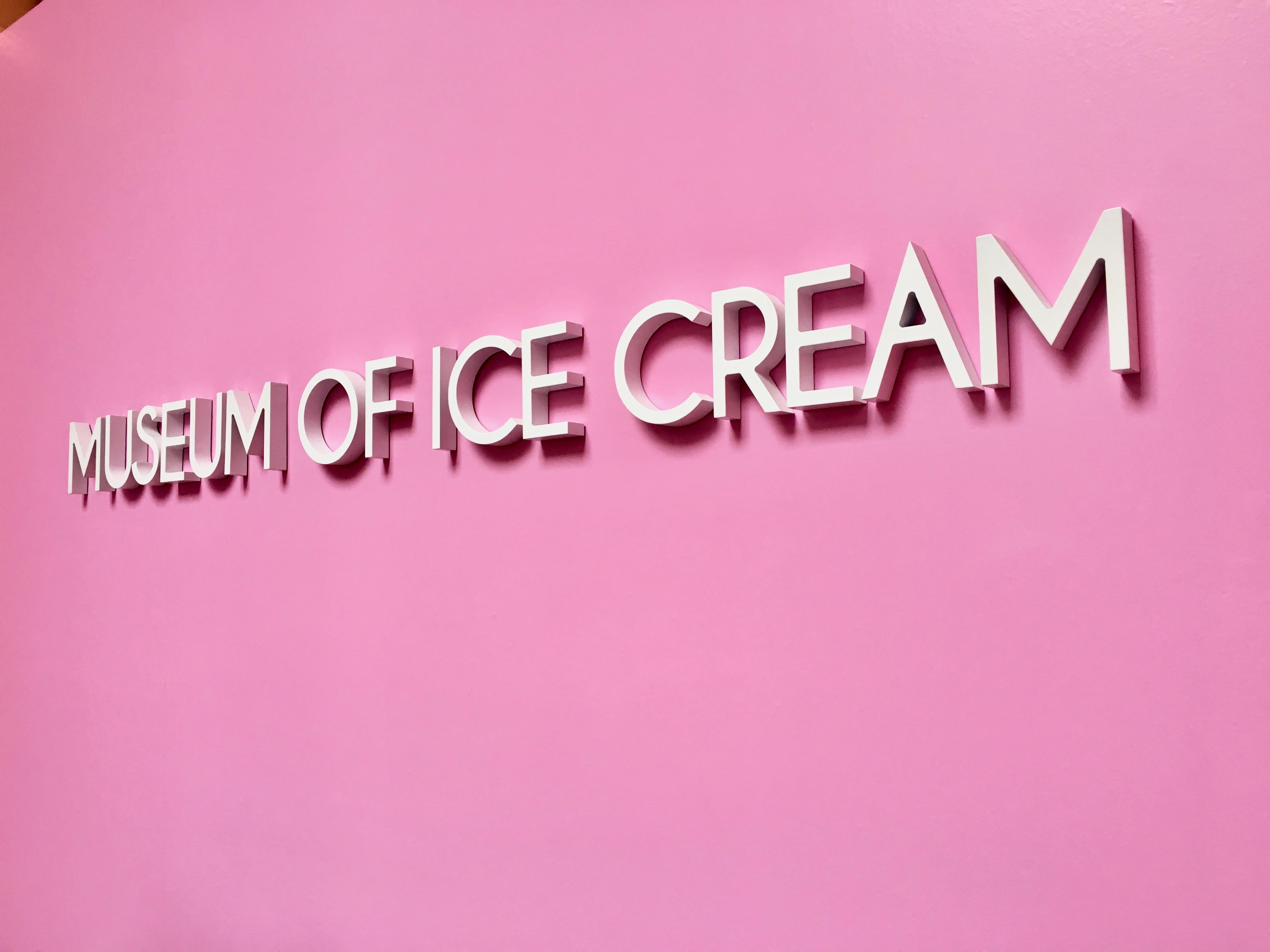 Museum of ICE CREAM!!!!!