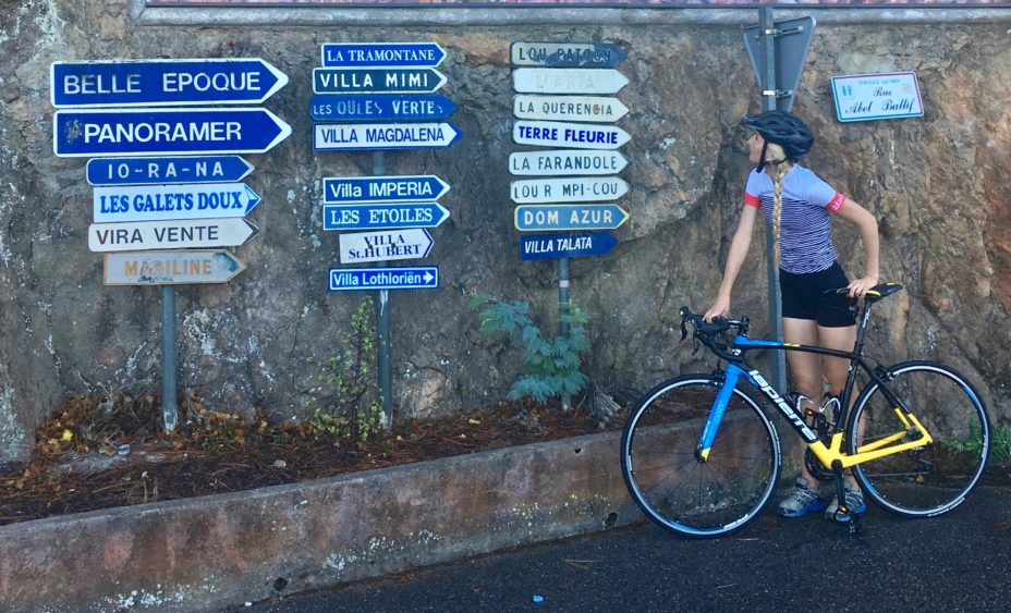 Cycling the Riviera
