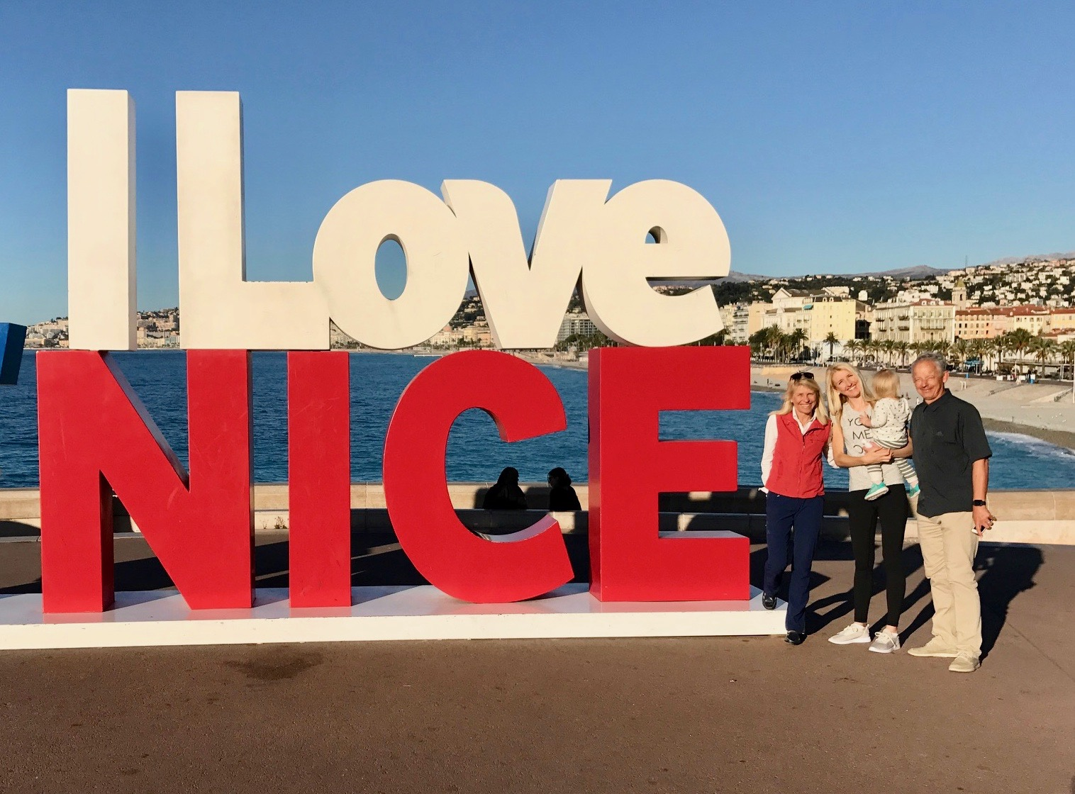 Our last night in Nice!