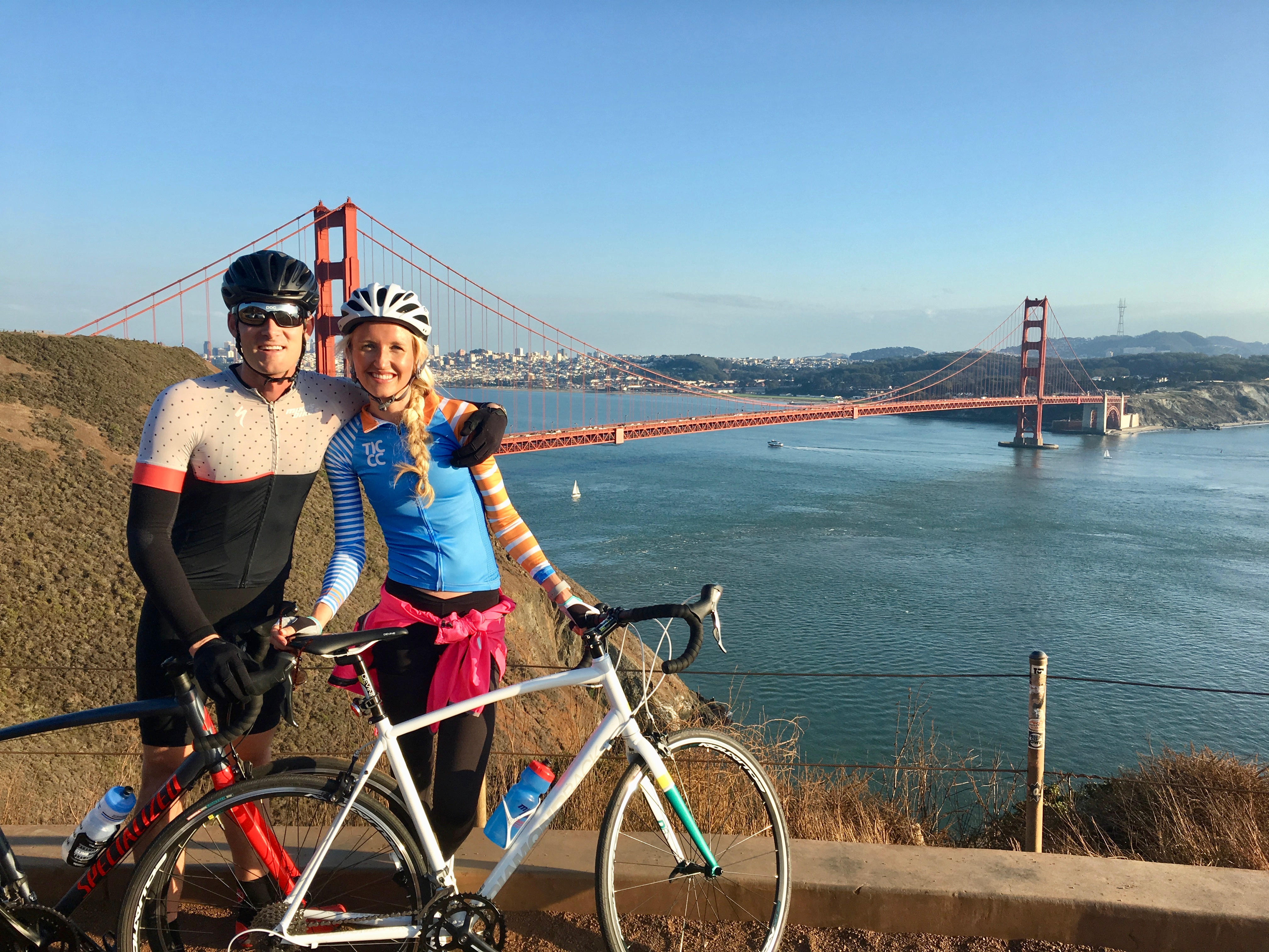 Biking the bridge + Dinner on the Pier + a Show!