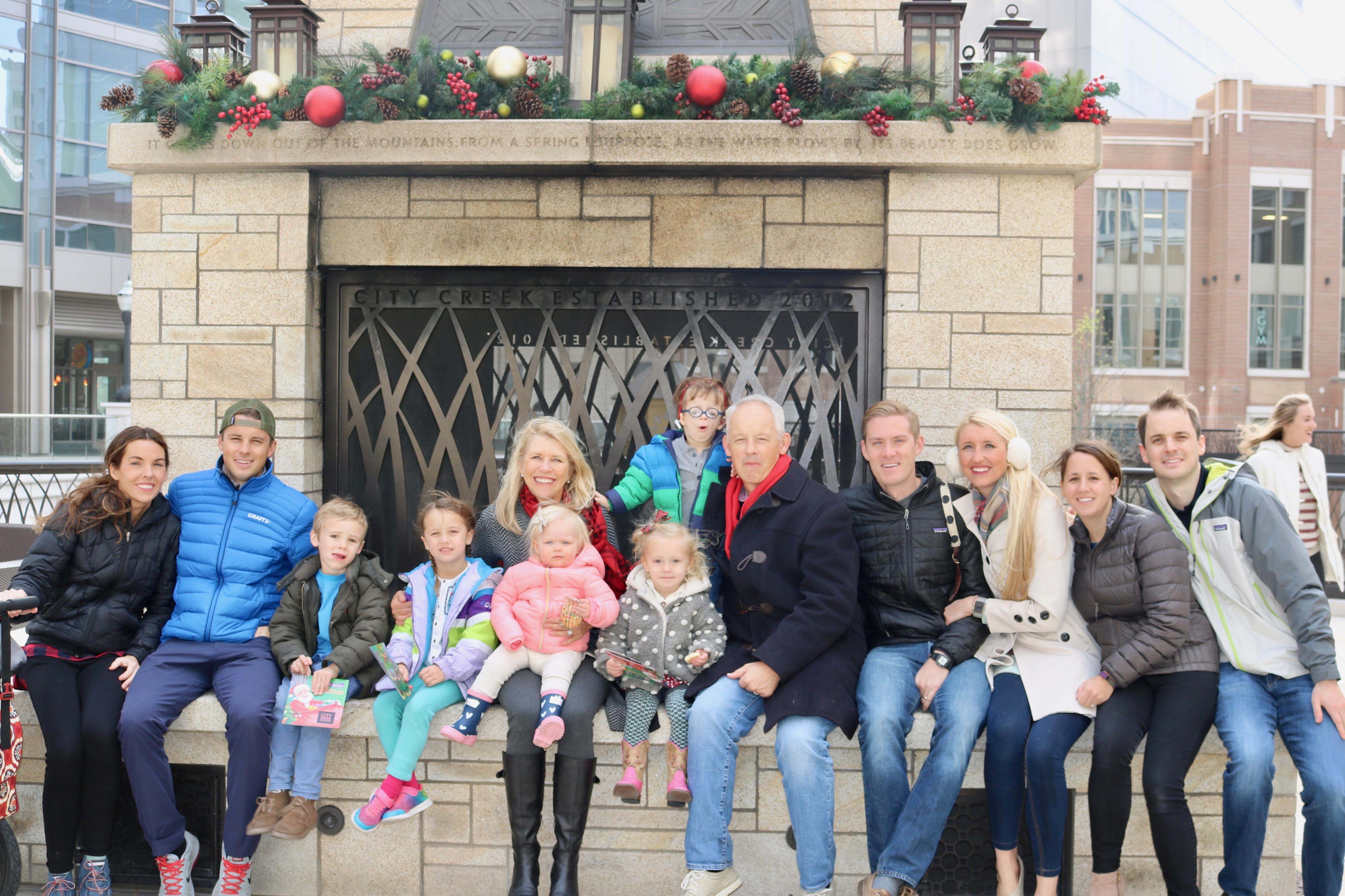 Grand America Christmas Windows + Downtown Scavenger Hunt