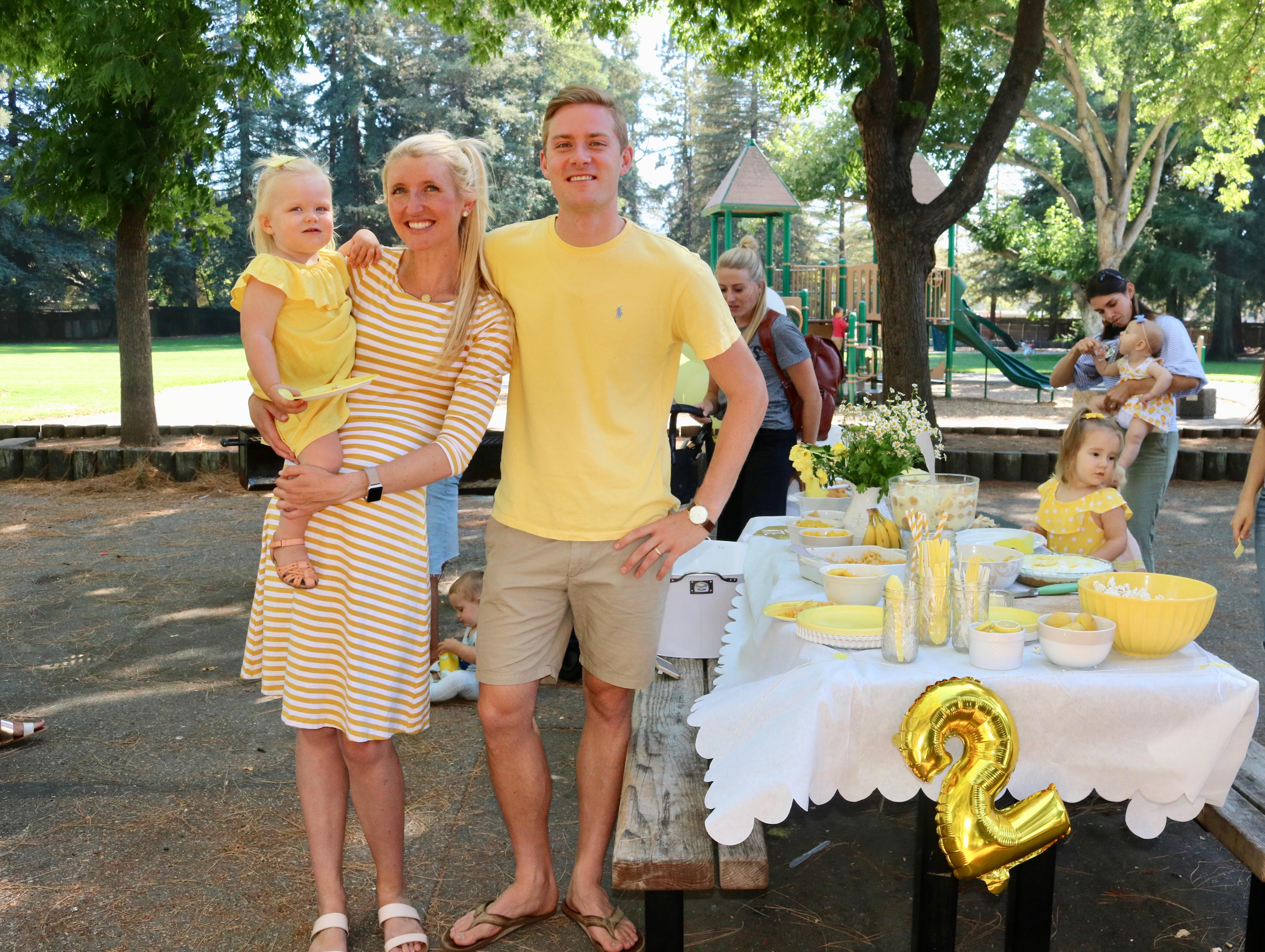REA OF SUNSHINE Yellow Birthday Party