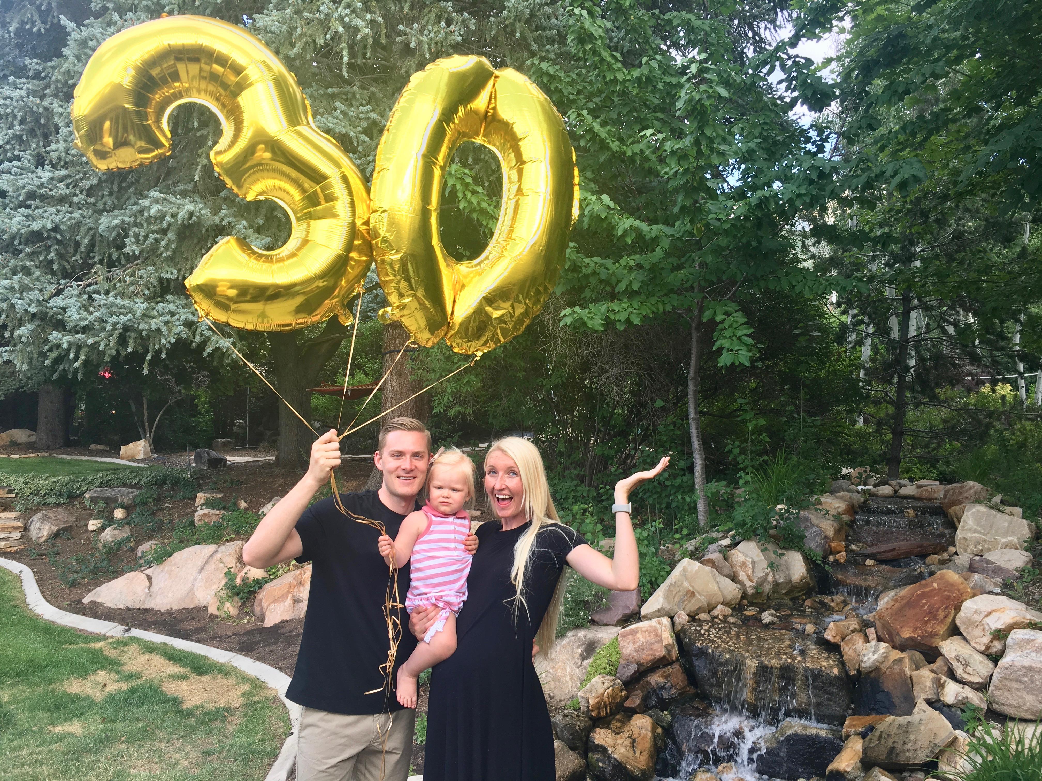 Chase's 30th birthday!