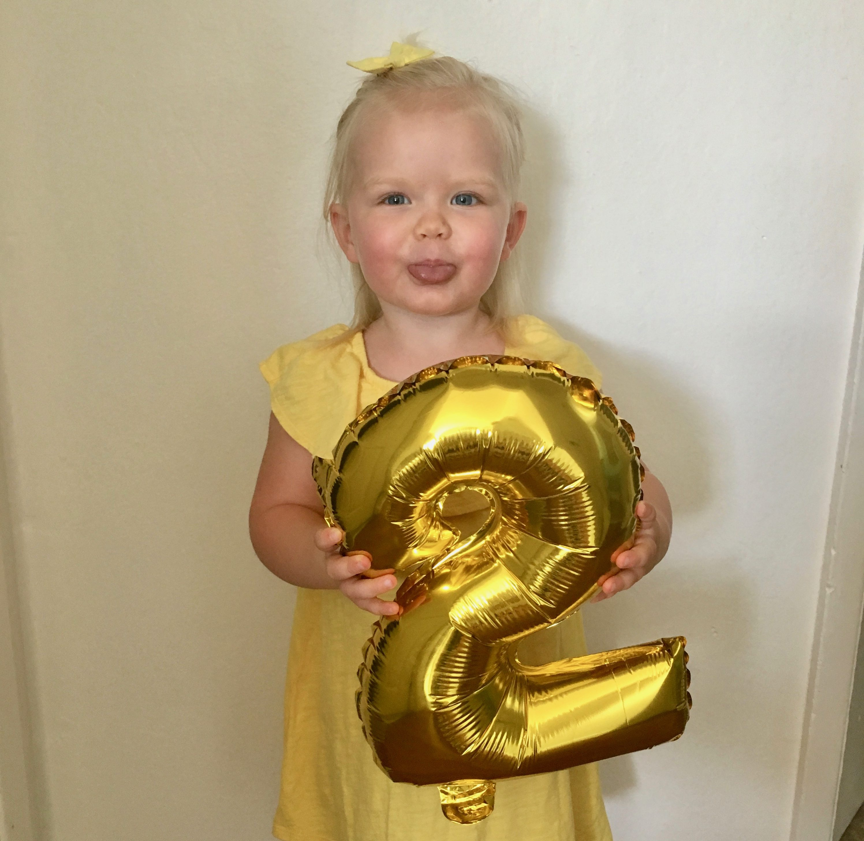 Reagan Turns 2!
