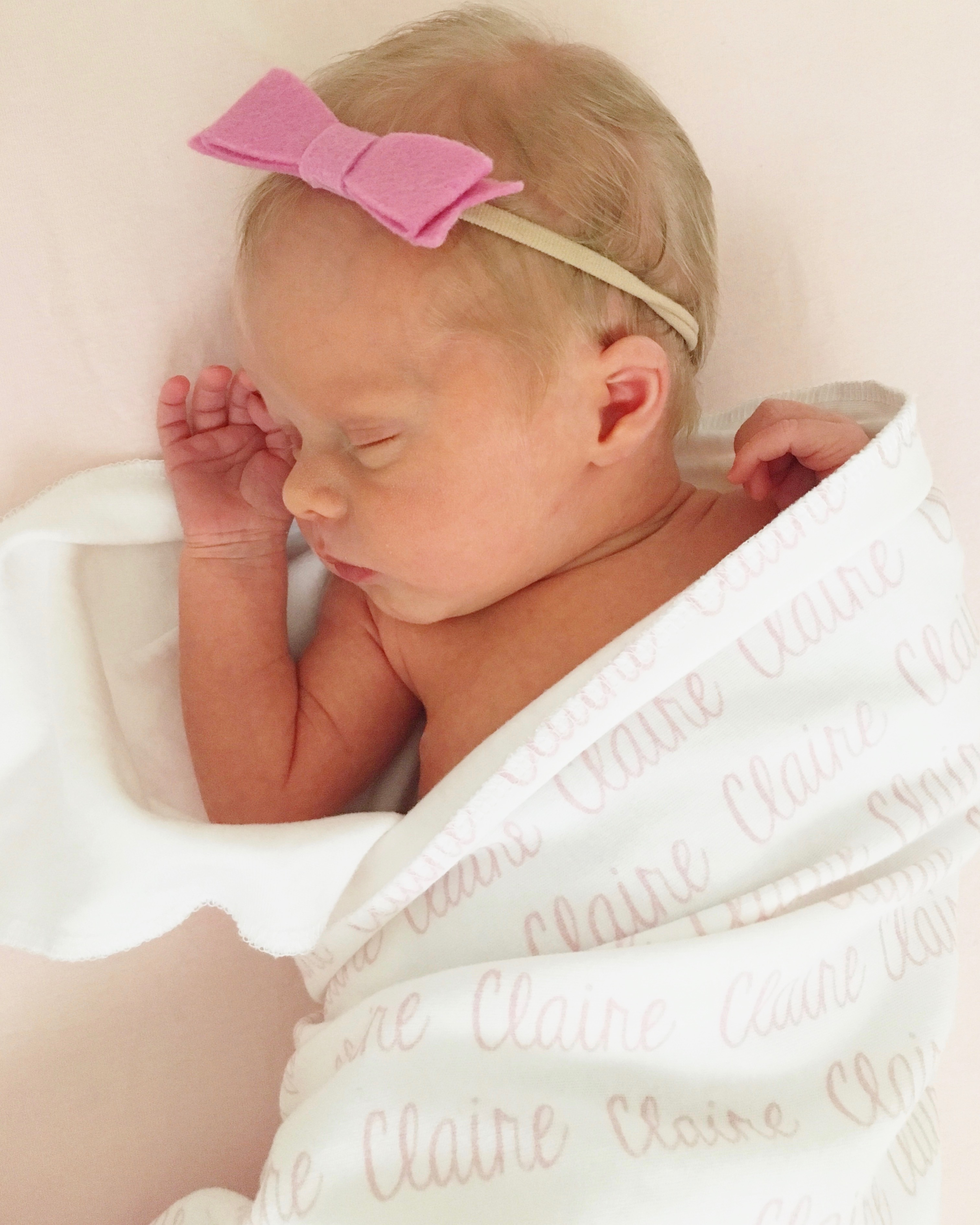 Welcome baby Claire Video