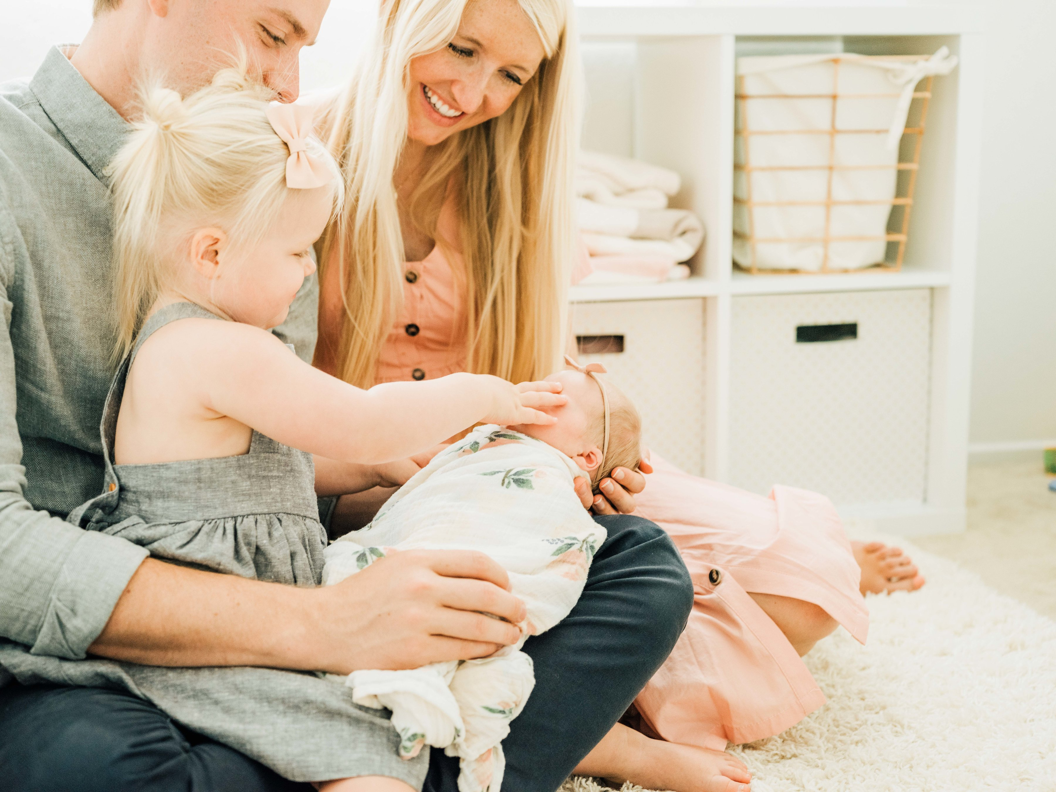 Claire's Newborn Photo Shoot