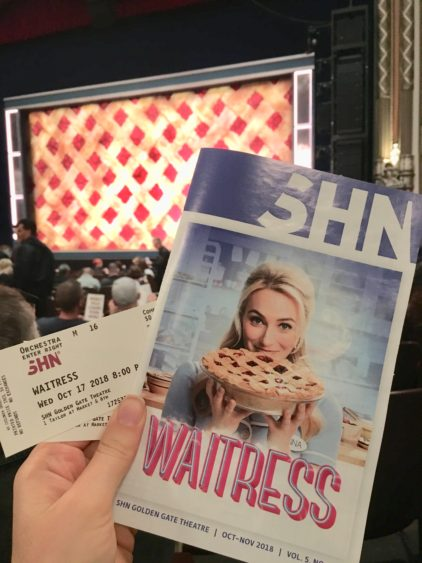 Waitress Musical in SF!
