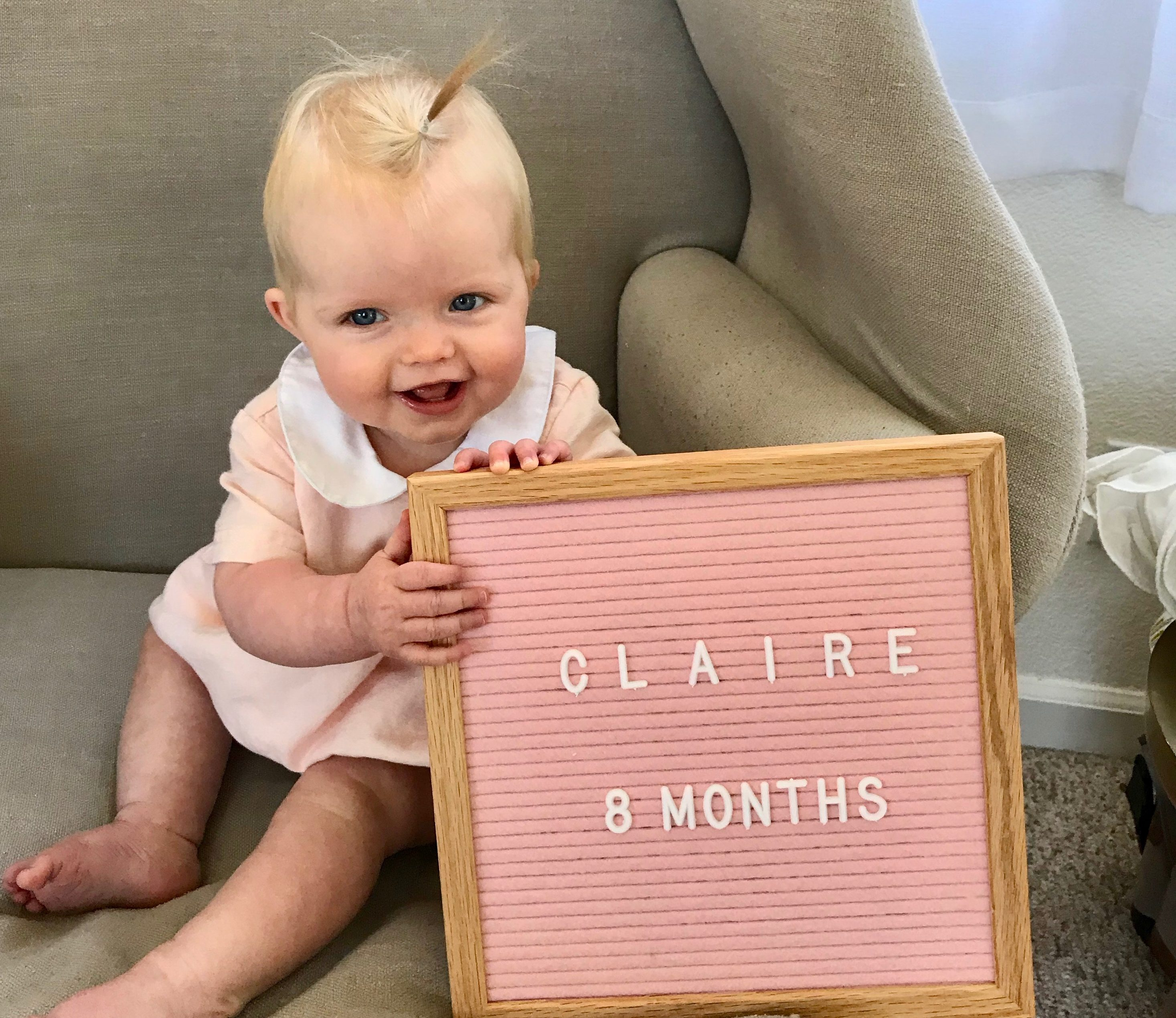 claire 8 months