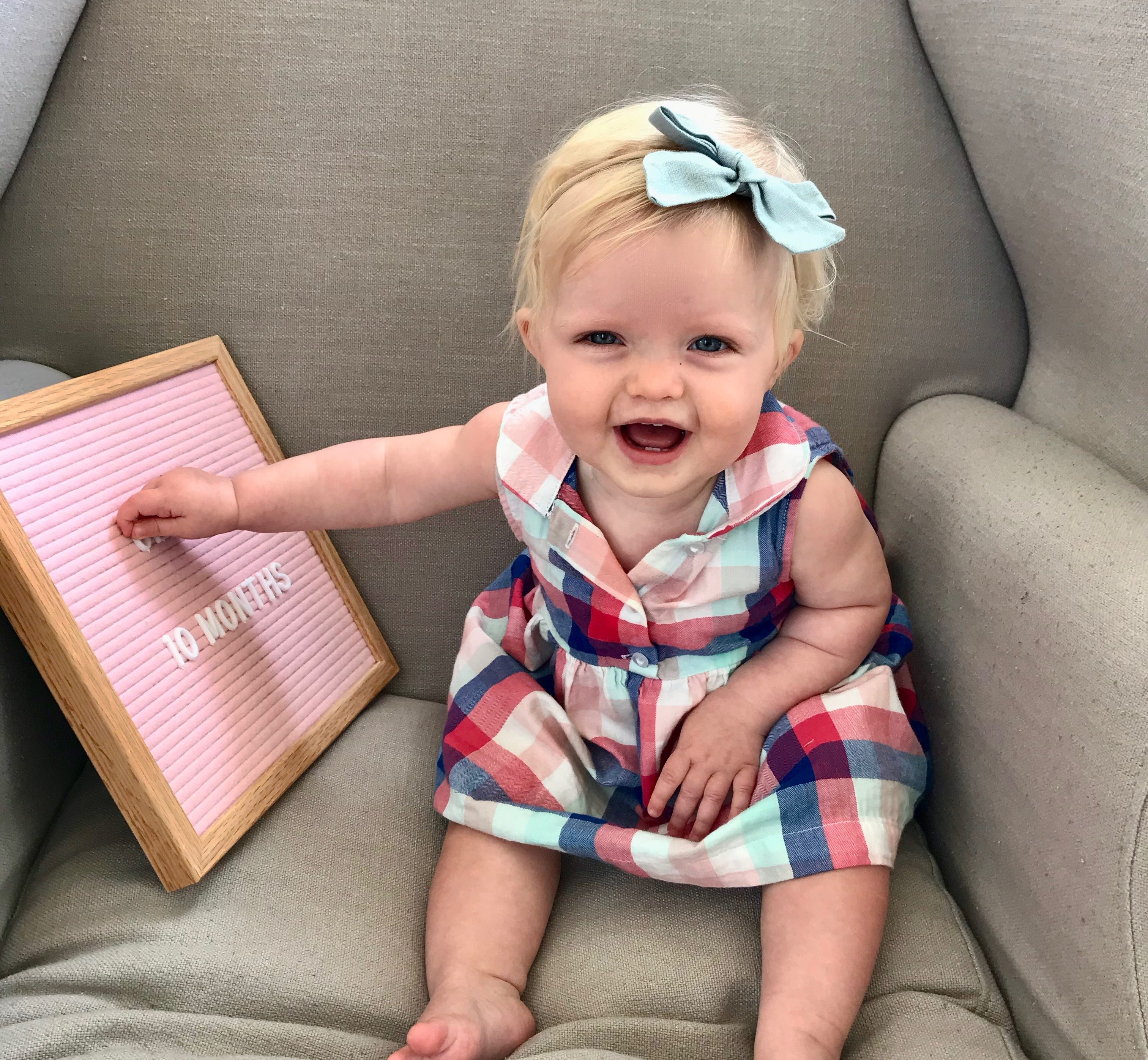 claire 10 months