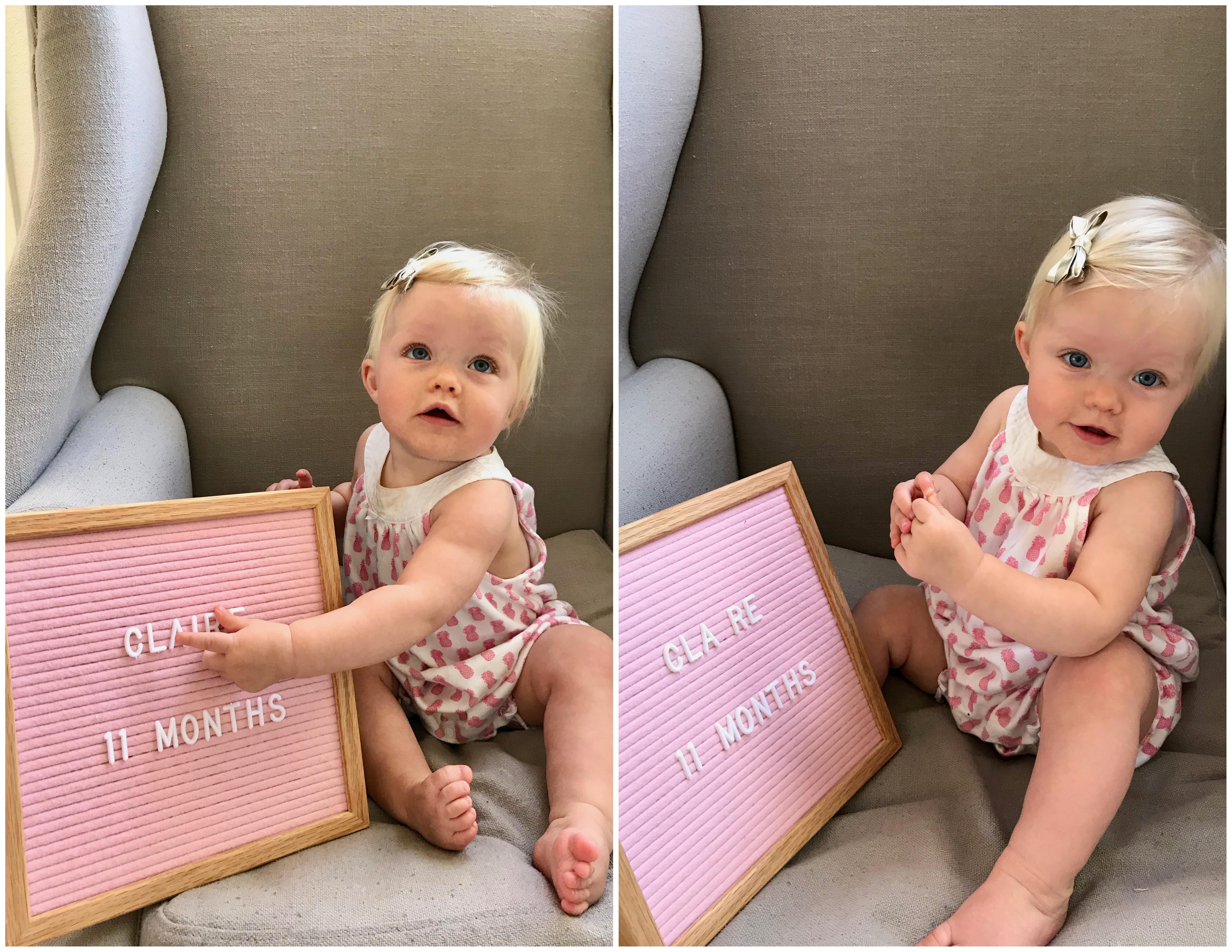claire 11 months