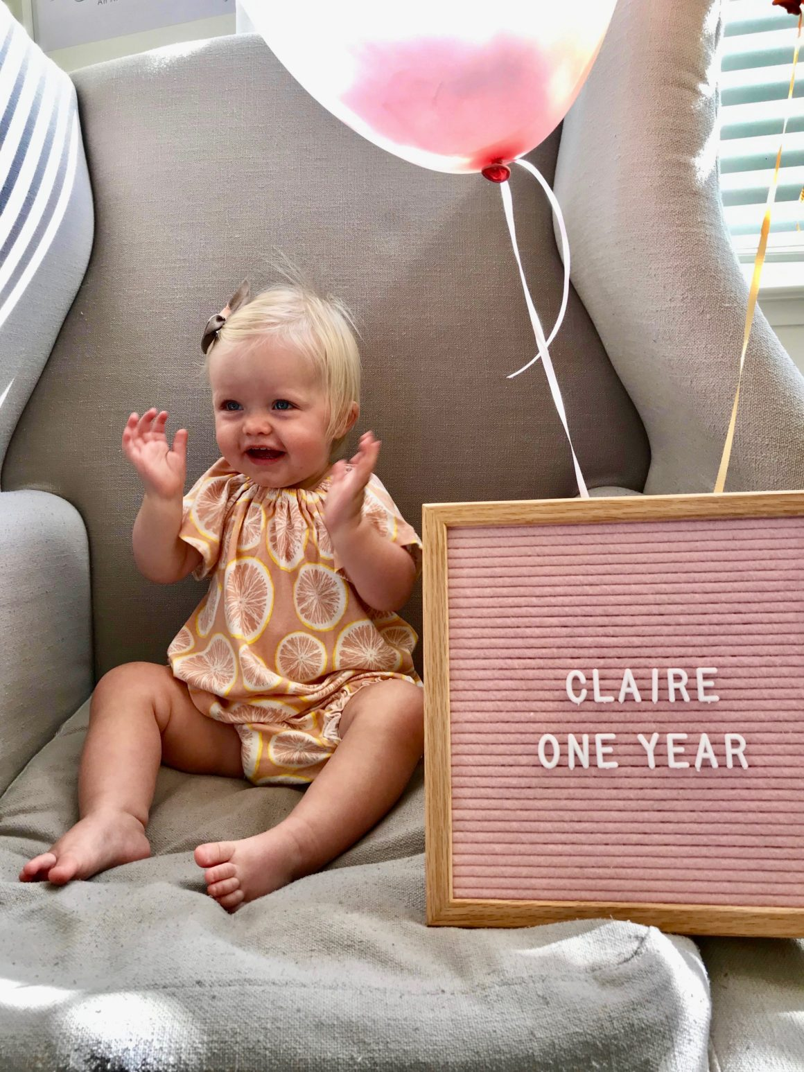 claire one year