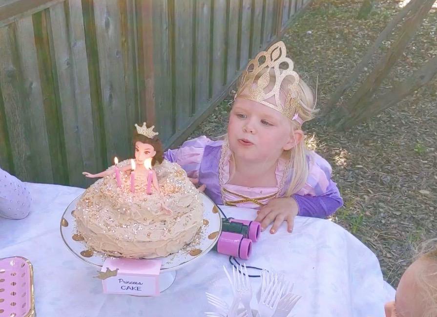 Reagan's Princess Party!