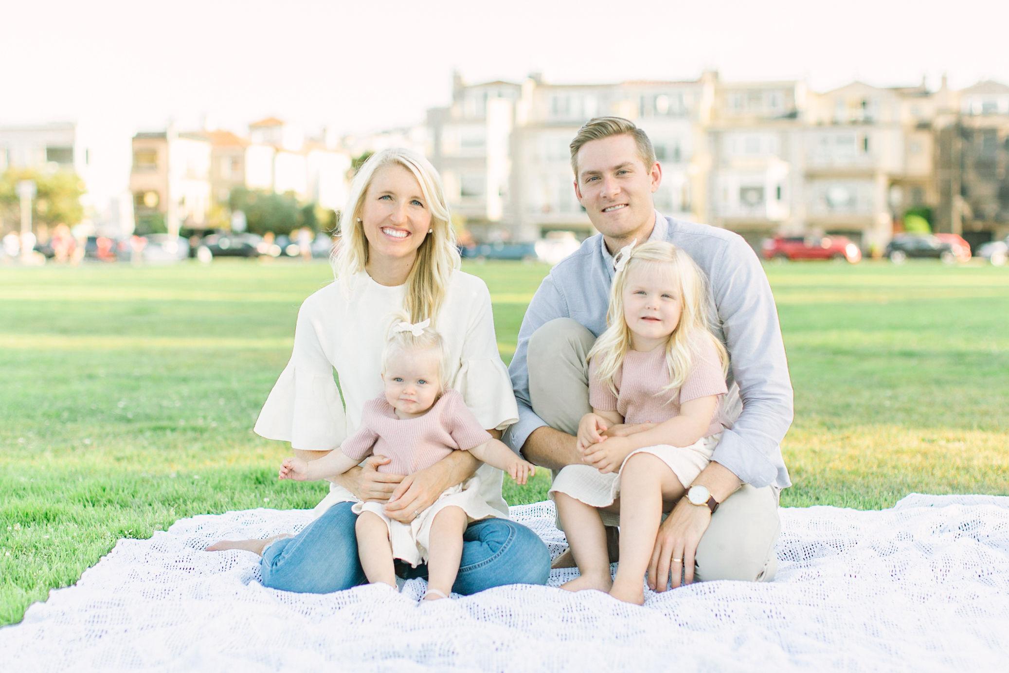 fall family photos in san francisco!