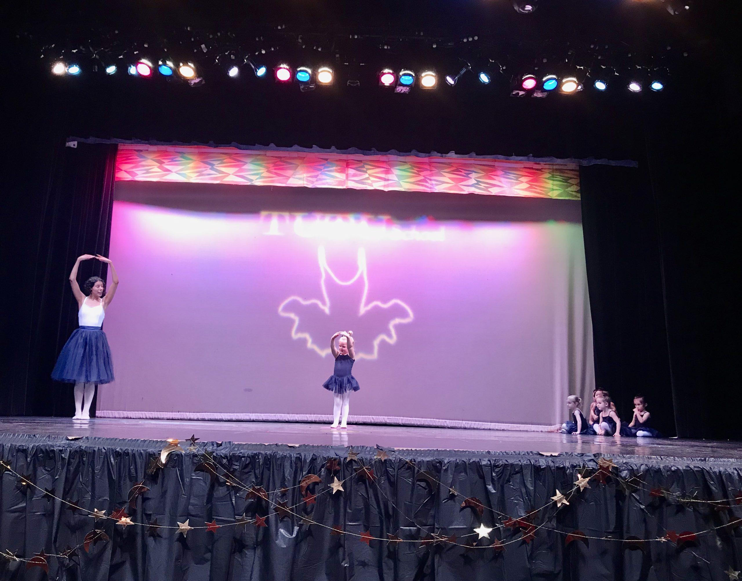 reagan's ballet recital