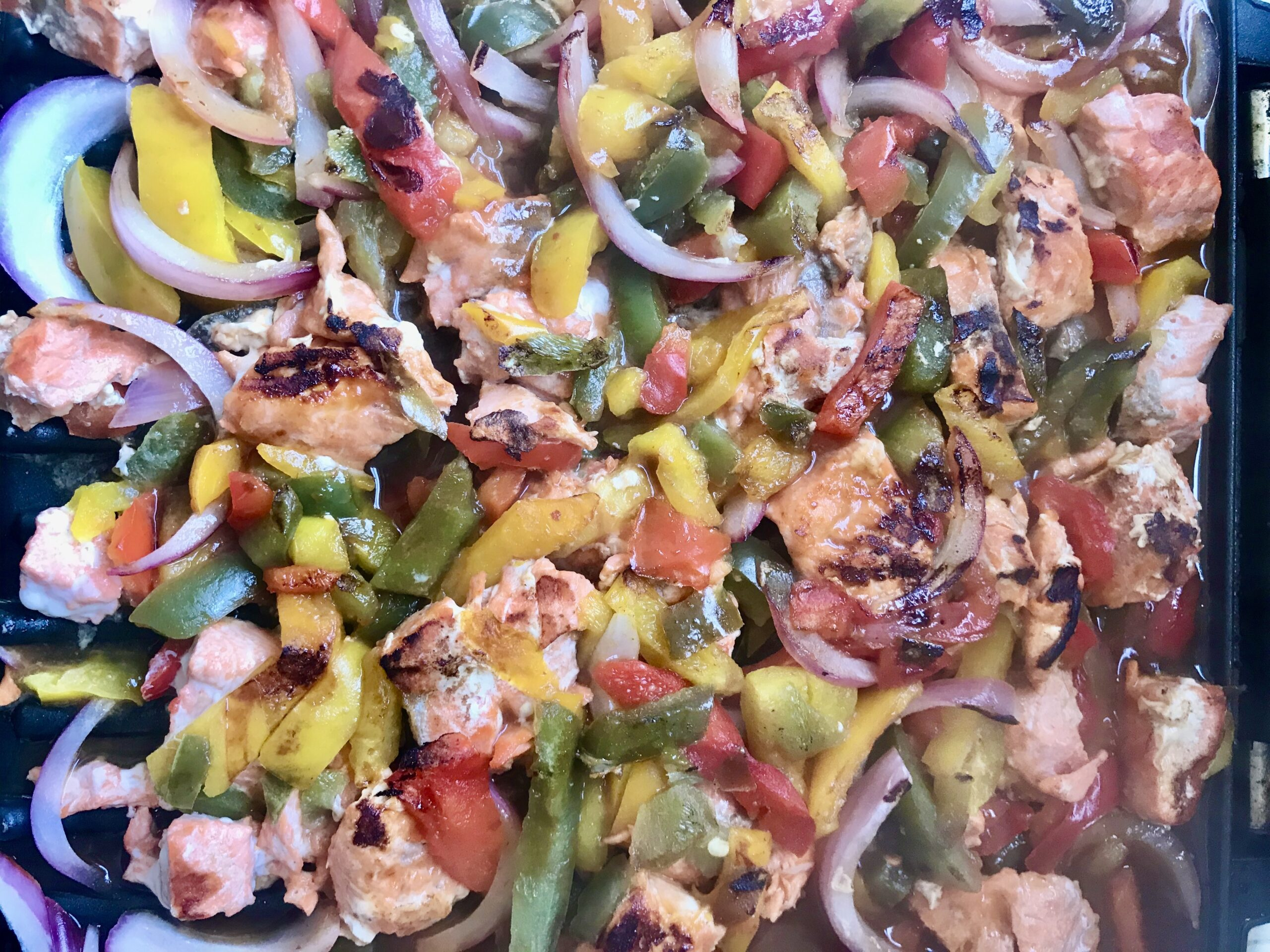 barbecue lime salmon